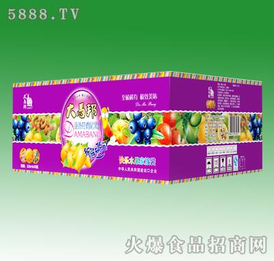 大马邦亚热带鸡尾果汁饮料226mlX15