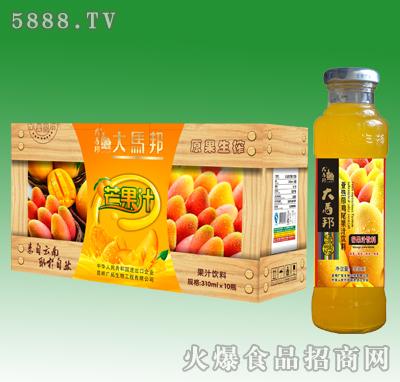 大马邦芒果汁饮料310mlX10