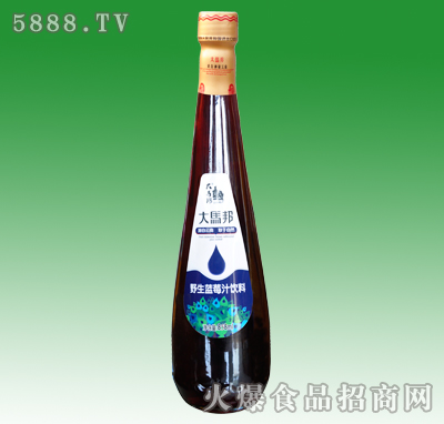 858ml大马邦蓝莓汁饮料