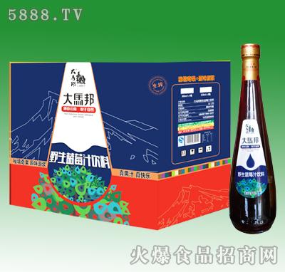 828ml大马邦野生蓝莓汁饮料