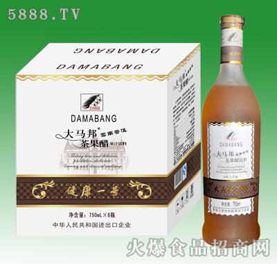 750mlx6大马邦茶果醋果汁饮料