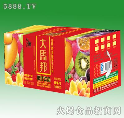 358mlx15瓶大马邦果汁饮品通用箱(加果肉)