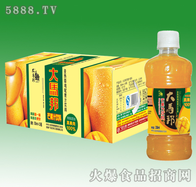 358mlx15瓶大马邦芒果汁(加果肉)