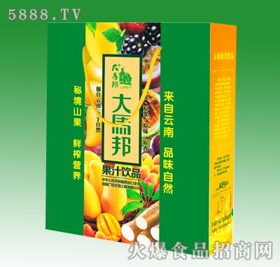 358mlx15瓶大马邦手提箱果汁综合箱