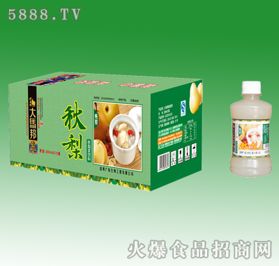 358mlx15瓶大马邦秋梨浆饮料