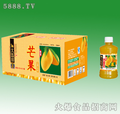 358mlx15大马邦芒果汁饮料
