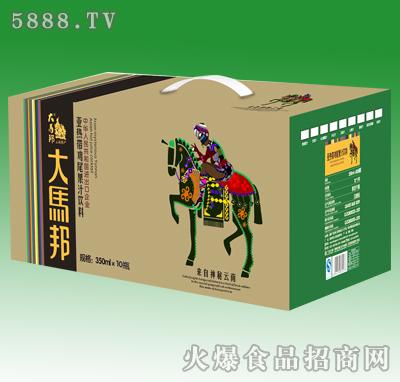 350mlx10大马邦亚热带鸡尾果汁饮料