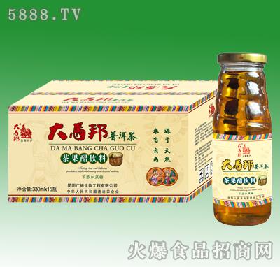 330mlx15大马邦普洱茶果醋饮料