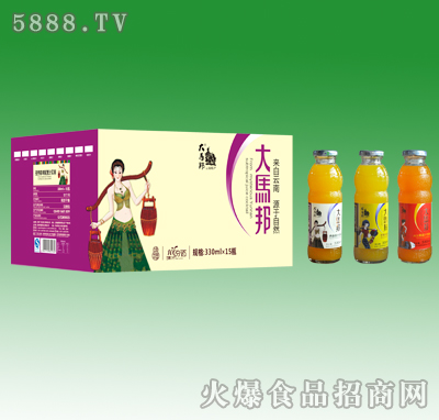 330mlx15大马邦亚热带鸡尾果汁饮料