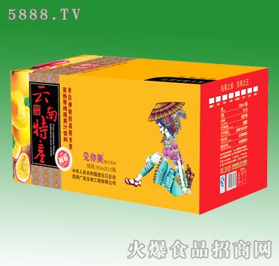 350mlX10见你美亚热带鸡尾果汁饮料