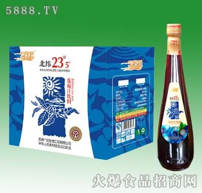 828ml昆朗蓝莓汁饮料