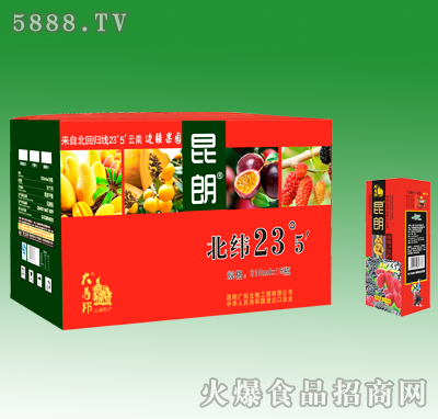 310mlX15昆朗桑葚汁饮料