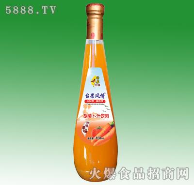 858ml台果风情胡萝卜汁饮料