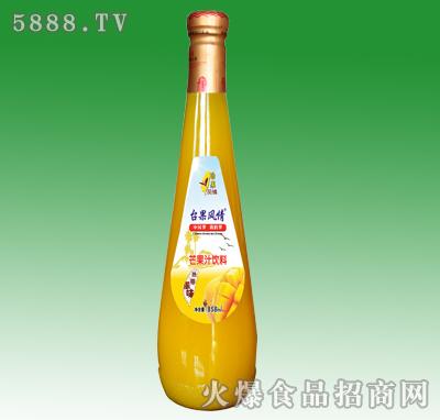 858ml台果风情芒果汁饮料