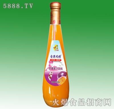 858ml台果风情西番莲汁饮料