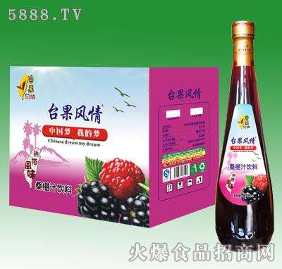828ml台果风情桑葚汁饮料
