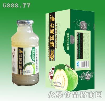 350ml台果风情青芭乐汁饮料