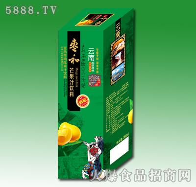 350ml枣和芒果汁饮料