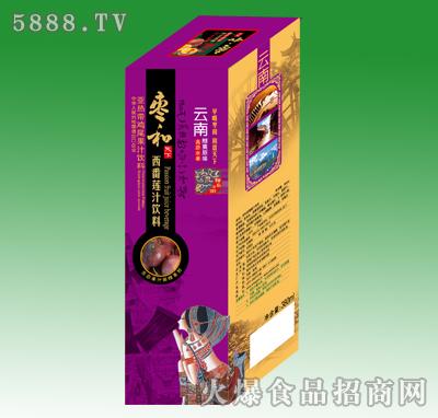 350ml枣和西番莲汁饮料