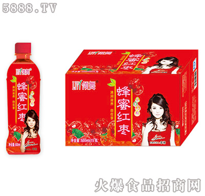 领舞蜂蜜红枣500ml