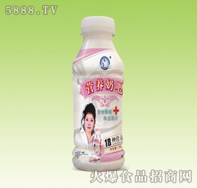 甘之泉�I�B奶吧草莓味350ml