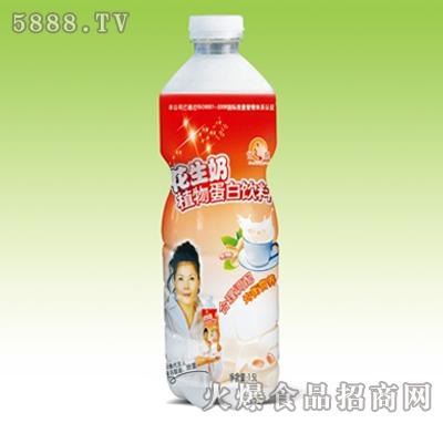 甘之泉花生奶植物蛋白�料1.5L