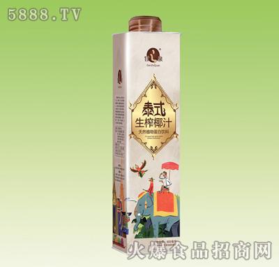 甘之泉泰式生榨椰汁600ml
