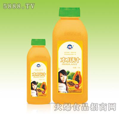 甘之泉木瓜汁�料1.25L