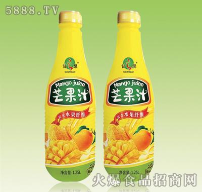 甘之泉芒果汁1.25L