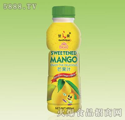 甘之泉芒果汁480ml