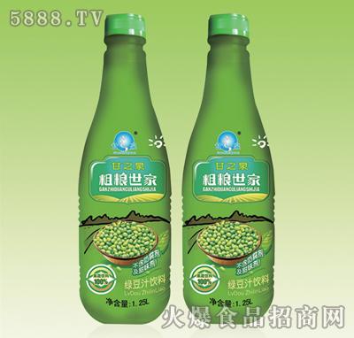 甘之泉粗�Z世家�G豆汁�料1.25L