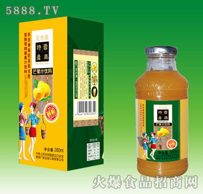 见你美芒果汁饮料350ml