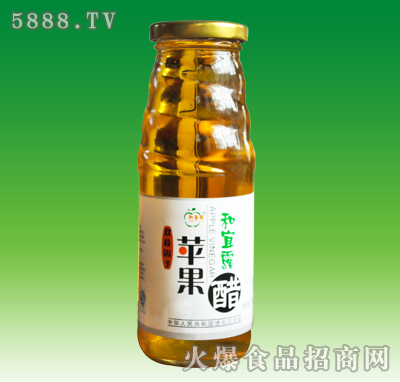 和宜露苹果醋白标320ml