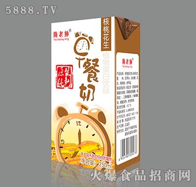 250ml俺老孙核桃花生早餐奶产品图