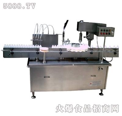 伊诺直线式食用油灌装旋盖机产品图