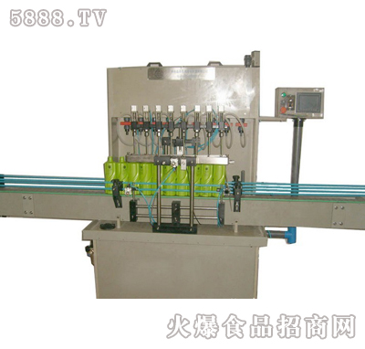 伊诺活塞式直线液体灌装机产品图