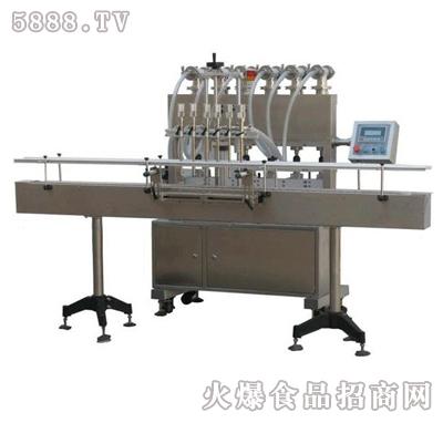 伊诺直列式灌装机液体灌装机产品图