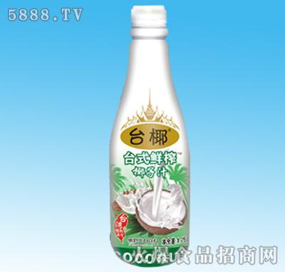 台椰台式鲜榨椰子汁1.25L