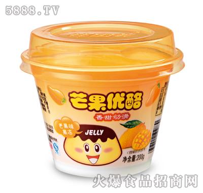佳因美芒果优酪200克芒果味果冻产品图