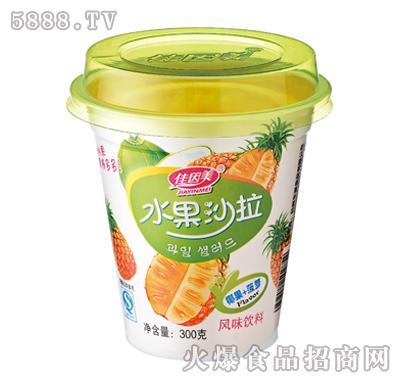 佳因美300g水果沙拉椰果加菠萝风味产品图