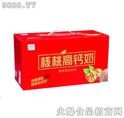 宏易堂核桃高钙奶250ml24盒礼盒装