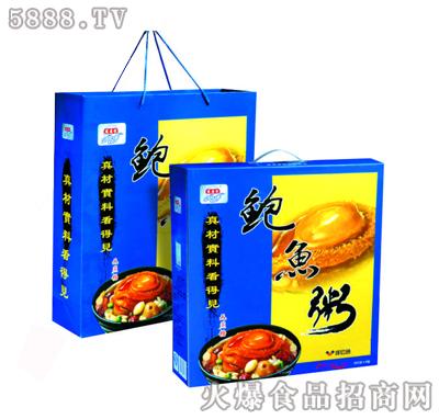 宏易堂鲍鱼粥无蔗糖320g6罐装八宝粥