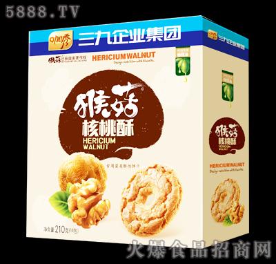 咖秀猴菇核桃酥210克