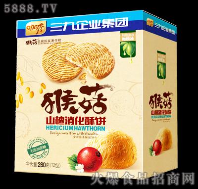 咖秀猴菇山楂消化酥饼260克