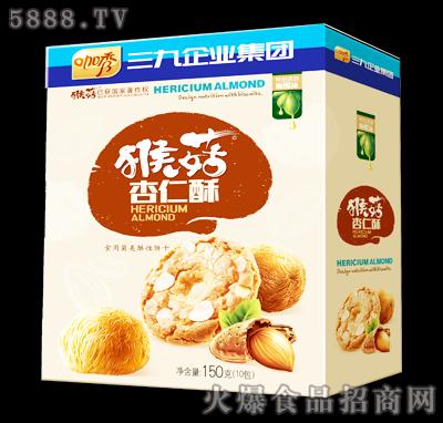 咖秀猴菇杏仁酥150克