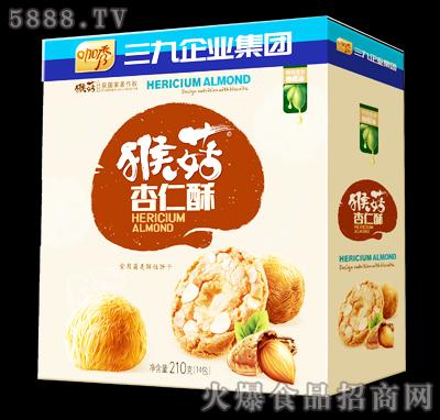 咖秀猴菇杏仁酥210克