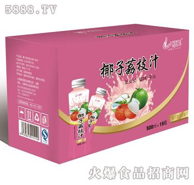 恒爱蜂蜜椰子汁1.25Lx8瓶