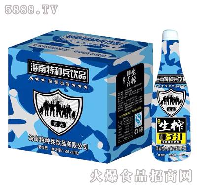 黑犬生榨椰子汁1.25Lx6瓶