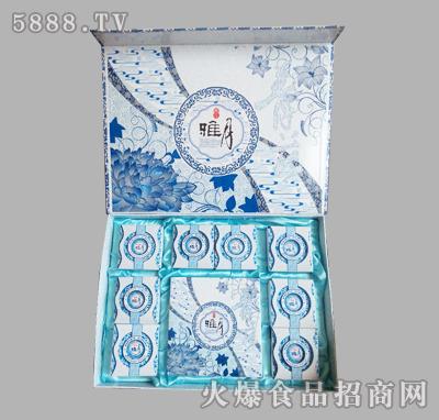 银贝儿雅月月饼礼盒