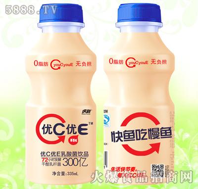 虎润优C优E乳酸菌饮品草莓味335ml